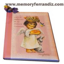 """Libro de Recuerdos Primera Comunión """"Angelito Pan y Uva""""."""