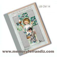 Libro de Recuerdos de mi Primera Comunión -Cruz Ángeles- Memory Ferrándiz