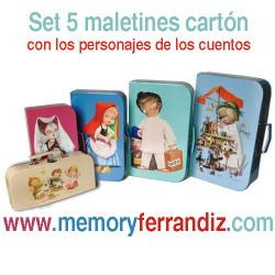 Maletines cartón Memory Ferrándiz
