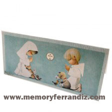 Tarjeta Ferrándiz Sobre dinero Primera Comunión, 10 x21 cm