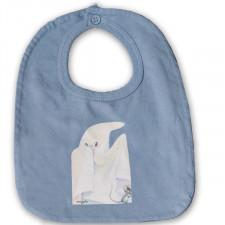 """Babero """"Fantasma"""". Color azul envejecido"""