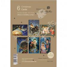 Christmas Ferrándiz, Serie ESCENAS NAVIDEÑAS, 6 tarjetas, CHPK 32