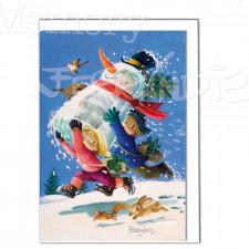Tarjeta Christmas Ferrándiz, CONGELADA, Memory Ferrándiz