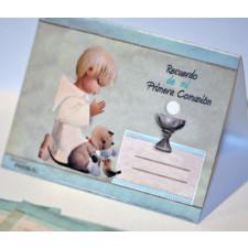 """Mini tarjetas mesa Comunión """"Niño"""". Ferrándiz"""