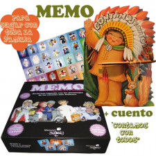 Juego MEMO + cuento -CONTAMOS CON TODOS- Ferrándiz