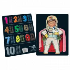 Tabla de multiplicar Ferrándiz, Astronauta, © Memory Ferrándiz