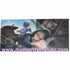 Tarjeta  Christmas Ferrándiz -SUEÑOS-dreams 21 x 10 cm