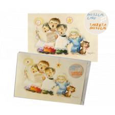 "Tarjeta Musical ""Monaguillos"" + luces. Villancico ""We wish you a Merry Christmas""."