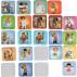 54 personajes Ferrándiz en 108 fichas de cartón