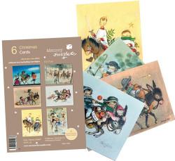 Christmas Ferrándiz, serie VAMOS A BELÉN, pack 6 tarjetas variadas, CHPK 20.