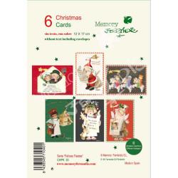 Christmas Ferrándiz, Serie FELICES FIESTAS Pack 6 unidades