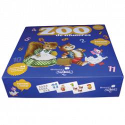 "Juego de números Ferrándiz. ""Zoo de números"". 24 fichas. Aprende a sumar"