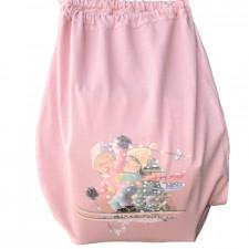 Bolsa algodón, Esquiadores, Memory Ferrándiz, ski, Color rosa