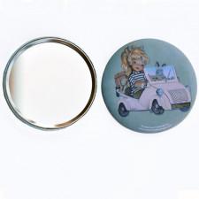 Espejo -BISCUTER- 76 mm. Memory Ferrándiz