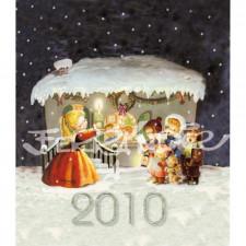Calendario sobremesa 2010, coleccionismo Ferrándiz. LIBRO DEL AÑO, Memory Ferrándiz