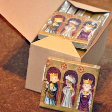 Servilletas -Reyes Magos- Ferrándiz  Caja 12 packs