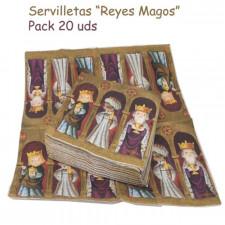 Servilletas Reyes Magos