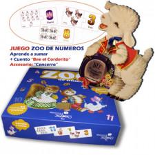 """Juego de números. """"Zoo de números"""" + CUENTO  """"Bee el corderito""""."""