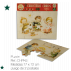 Christmas Cards Ferrándiz, PUZZLE, pack 2 cards die cut puzzle
