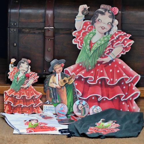 Flamenco souvenirs