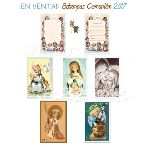 Vintage prints First Communion