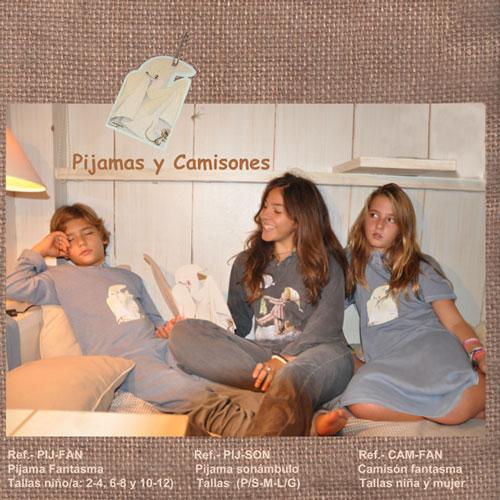 Pijamas y camisones