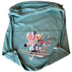 Bolsa algodón -Esquiadores- Memory Ferrándiz