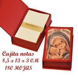 Cajita notas Memory Ferrándiz, Virgen gótica,