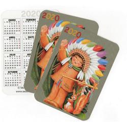 Calendario bolsillo Indio, pack 3 uds Ferrándiz