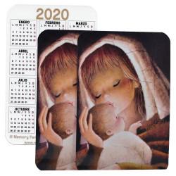 Calendario bolsillo 2020 VIRGEN CANELA
