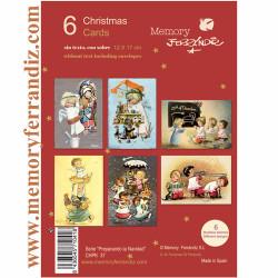 Christmas Pack 6  Serie -Preparando la Navidad- Ferrándiz, CHPK 37