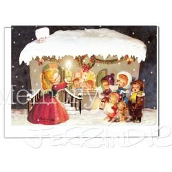 Christmas casita nevada