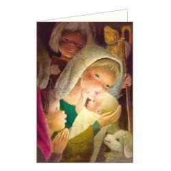 Tarjeta Christmas ORACIÍN A  JESÚS