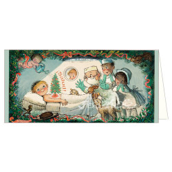 Christmas tarjeta Ferrándiz Memory QUIRÓFANO