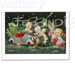 Tarjeta Christmas, Memory Ferrándiz, AVERÍA,