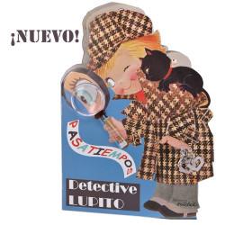 Cuento Detective Lupito. Memory Ferrándiz Pasatiempos
