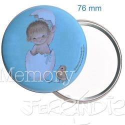"Espejo ""Huevo azul"". 76 mm"