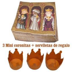 Mini CORONAS REYES MAGOS
