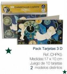 """Christmas Ferrándiz, Serie """"Año Nuevo"""" (10 x 17 cm) + sobre. (2D)"""