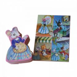 Puzzle -La ratita presumida- Memory Ferrándiz, en caja troquelada