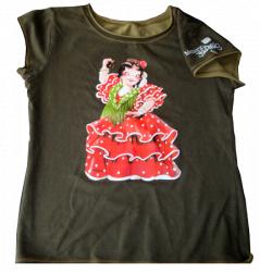 Camiseta algodón -FLAMENCA- Memory Ferrándiz