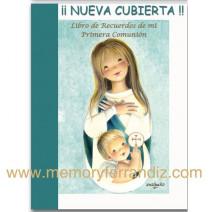 """Libro NUEVO de Recuerdos de mi Primera Comunión """"Oración"""".  LB CM 18"""