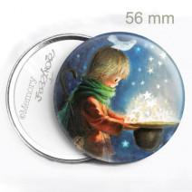 Espejo mini  SOMBRERO ESTRELLAS 56 mm Memory Ferrándiz