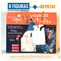 """Puzzle 2D """"Miedito el buen fantasmito"""". OFERTA. Precio normal 12 €"""