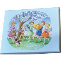 "Caja Bombones o multiusos ""Flores y frutos"" (17x12x3cm)"