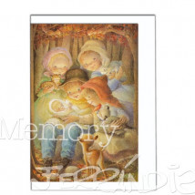 Christmas Ferrándiz MISTERIO EN EL BOSQUE.  12 X 17 cm