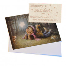 Tarjeta Christmas Ferrándiz VAYA ESTRELLA, 12x17 cm