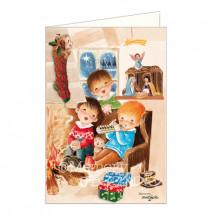 Tarjeta Christmas Memory Ferrándiz  YA VIENEN LOS REYES