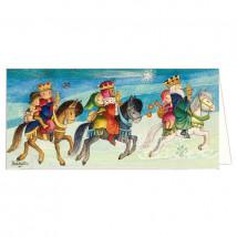Christmas tarjeta REYES MAGOS Memory Ferrándiz