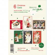 Christmas Ferrándiz FELICES FIESTAS Pack 6 unidades
